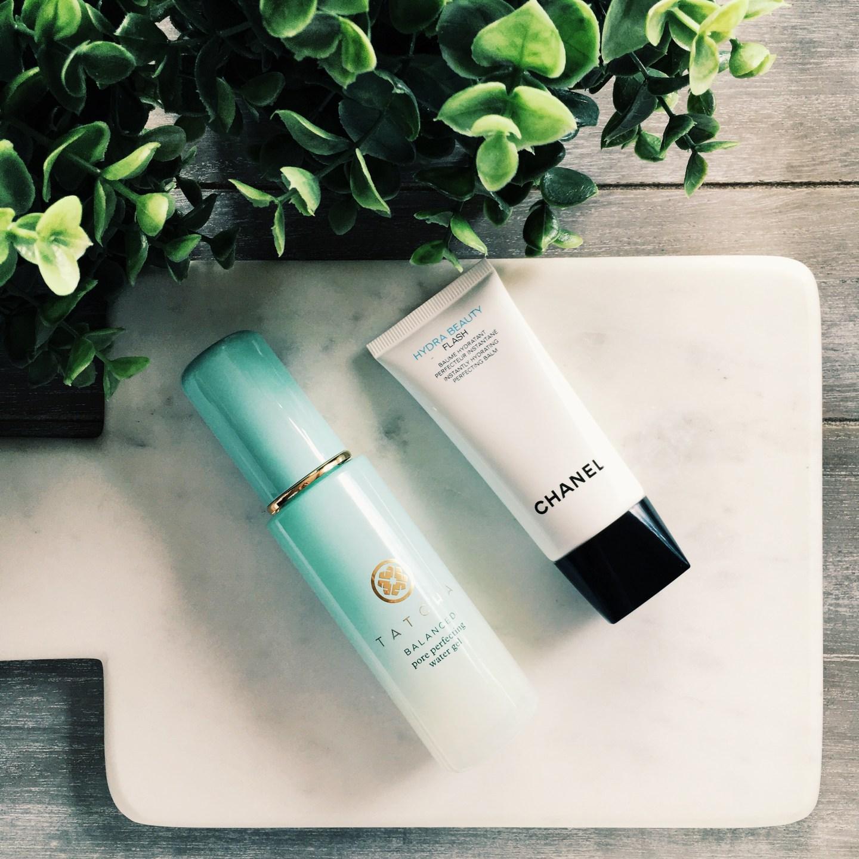 Tatcha Pore Perfecting Water Gel | Chanel Hydra Beauty Flash