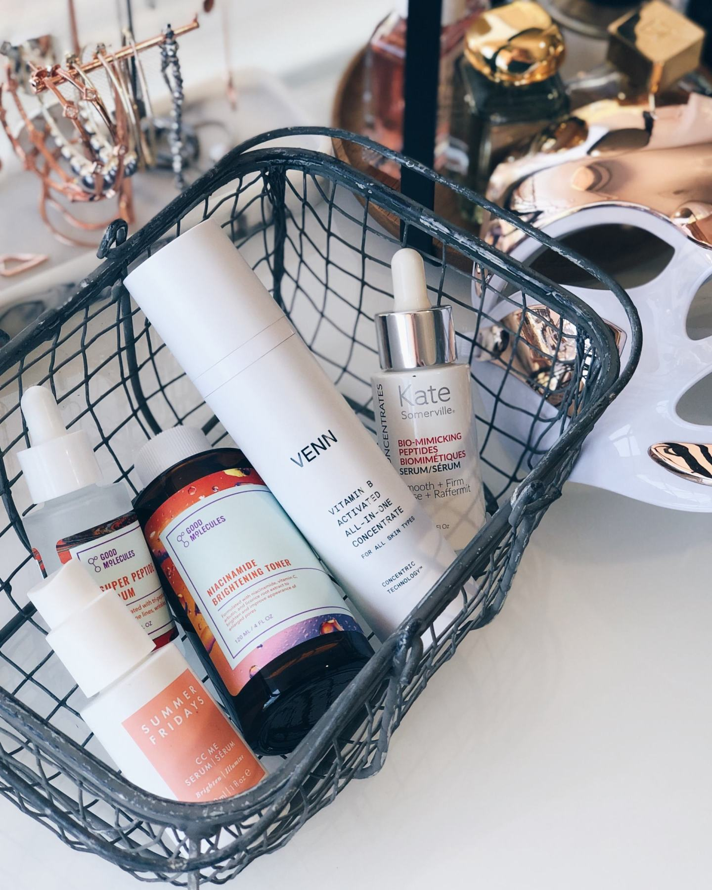 Morning Skincare Serums & Treatments
