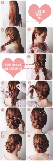 quick easy bridesmaid hair 1