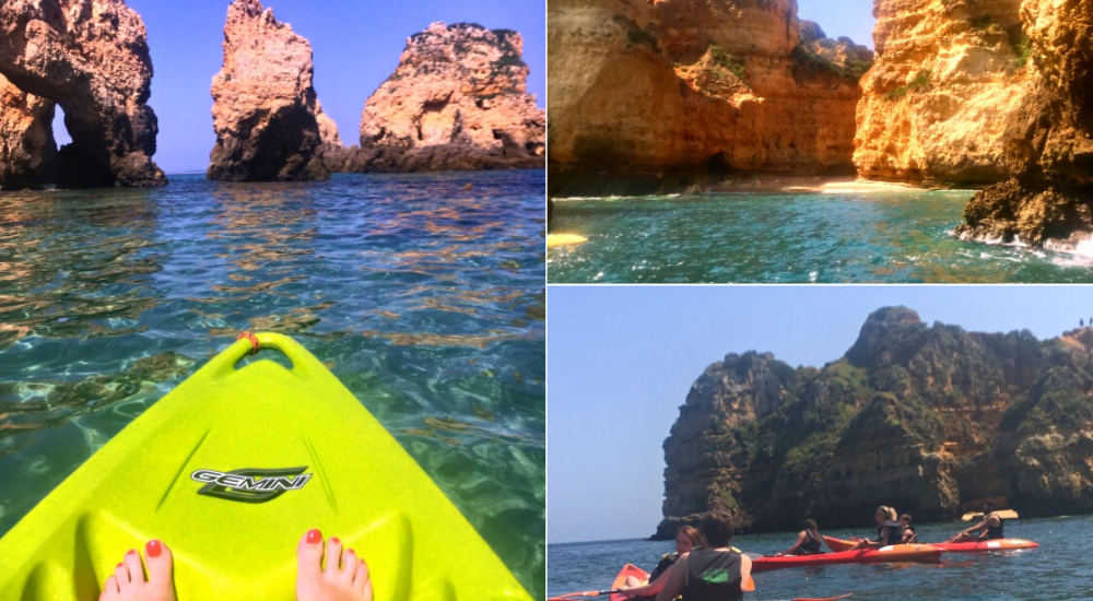 Kayaking the Ponta da Piede