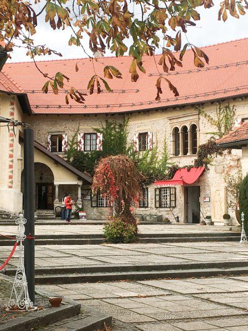 Bled Castle. Falling in Love with Slovenia www.awelltravelledbeauty.com