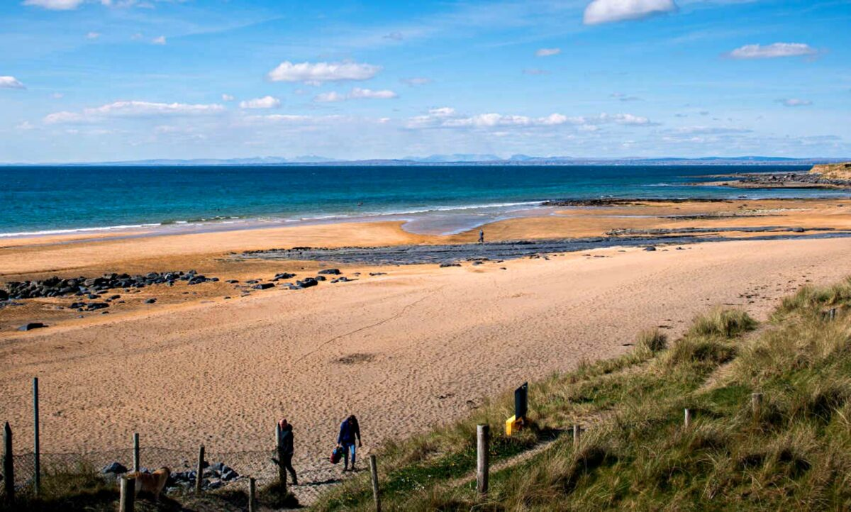 best scenic drives in Ireland - Fanore Beach Co Clare