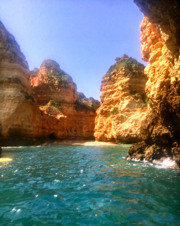 Kayaking the Ponta da Piedade