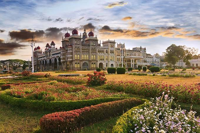 The Mysore palace... where it all began