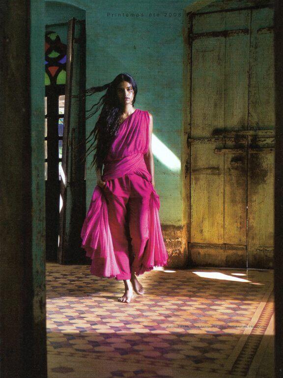 Shooting Lakshmi Menon for Hermes