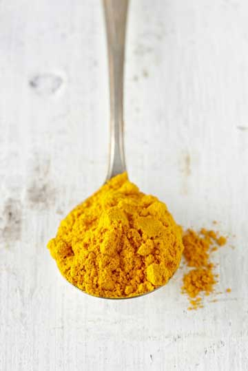 turmeric for sunburn