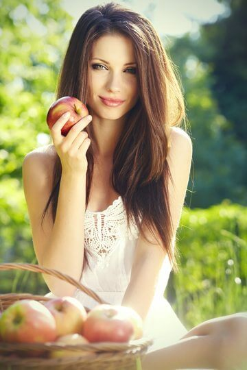 apple skin benefits