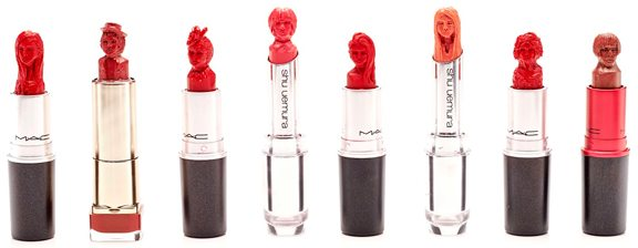 lipstick carving