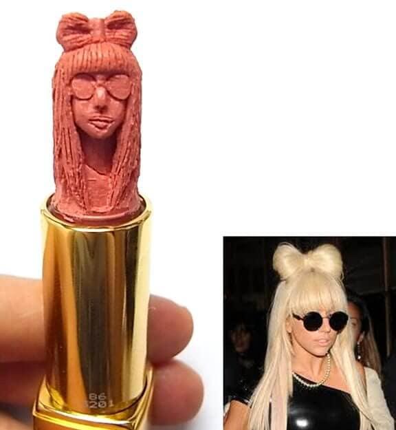 lipstick lady gaga