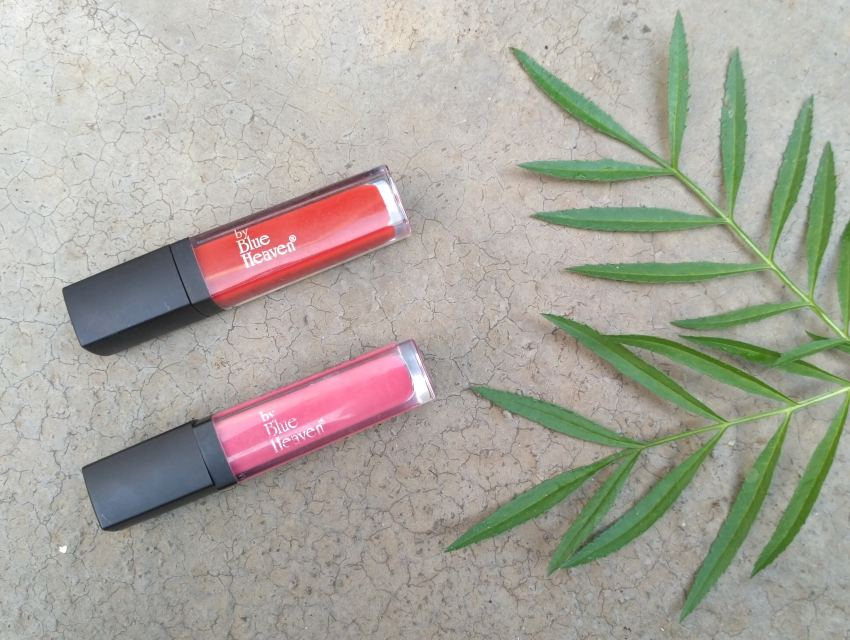 Blue Heaven Long Wear Lip Color Dazzle & Hard Rock | Review
