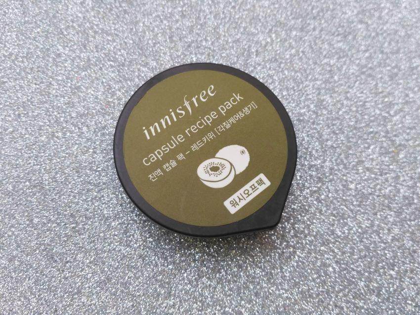 Innisfree Red Kiwi Capsule Recipe Pack Review