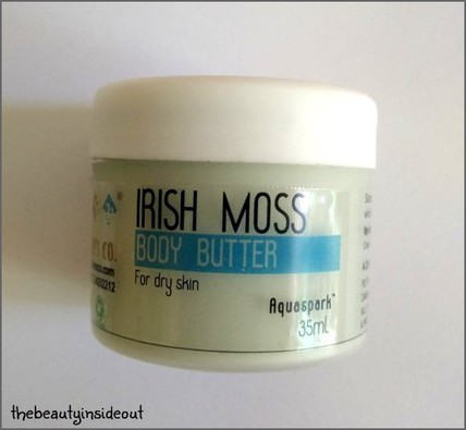 Irish Moss Body Butter