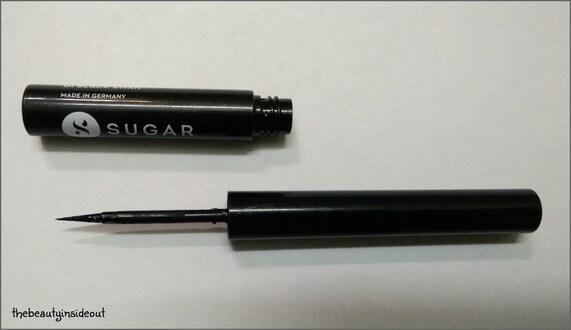 Sugar EyeTold You So Eyeliner has a felt tip applicator