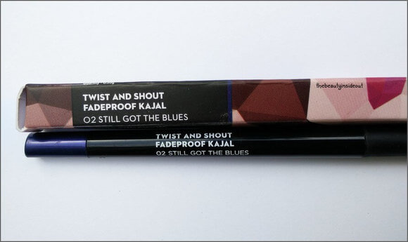 Sugar Kajal Dark Blue