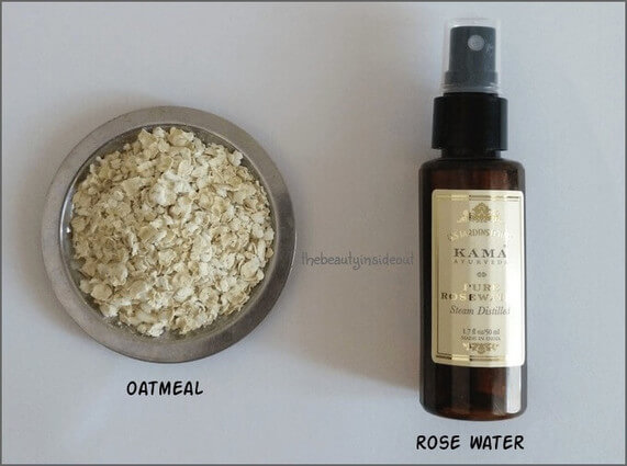 Soothing Oatmeal Face Pack