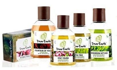 Organic Skincare Brands - Dear Earth