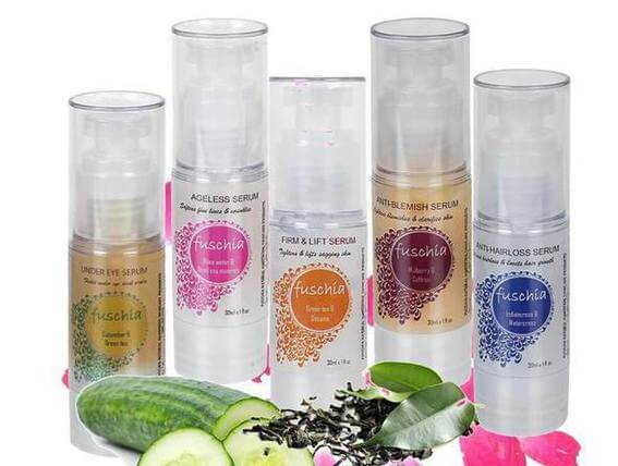 Organic Skincare Brands - Fuschia