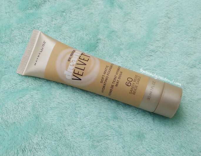 *New* Maybelline Dream Velvet Soft Matte Hydrating Foundation : Review+Swatch