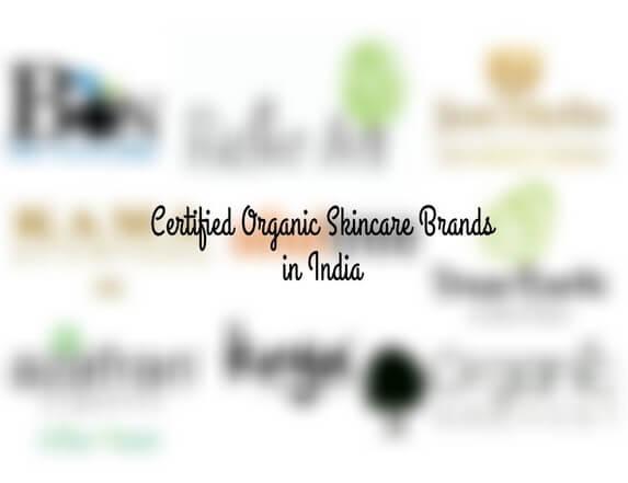 Certified Organic Skincare Brands in India