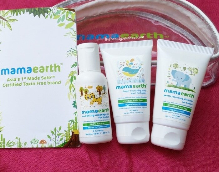 Mama Earth Baby Care Products