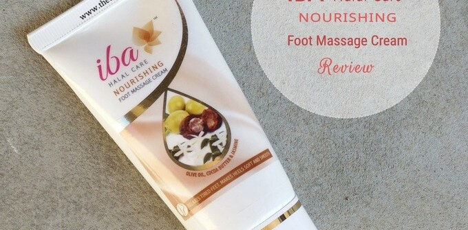 IBA Halal Care Nourishing Foot Massage Cream Review