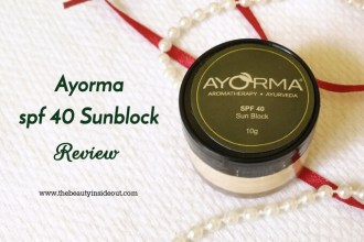 Ayorma Sunblock SPF 40 Review