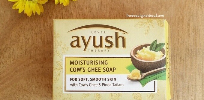 Lever Lever Ayush Moisturizing Cow's Ghee SoapMoisturizing Cow Ghee's Soap