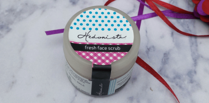 Hedonista Fresh Face Scrub Review