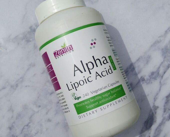 Zenith Nutrition Alpha Lipoic Acid