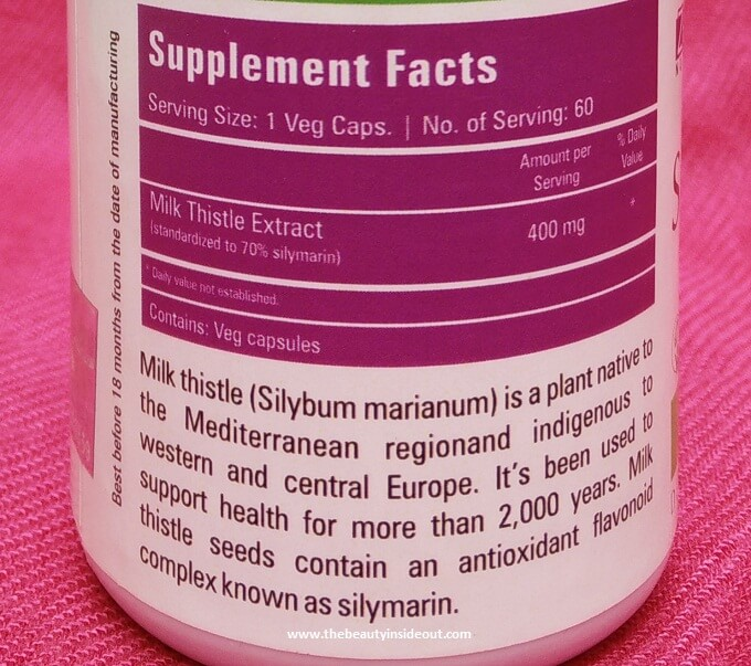Zenith Nutrition Silymarin Milk Thistle Review