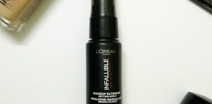 L'Oreal Infallible Makeup Extender Setting Spray
