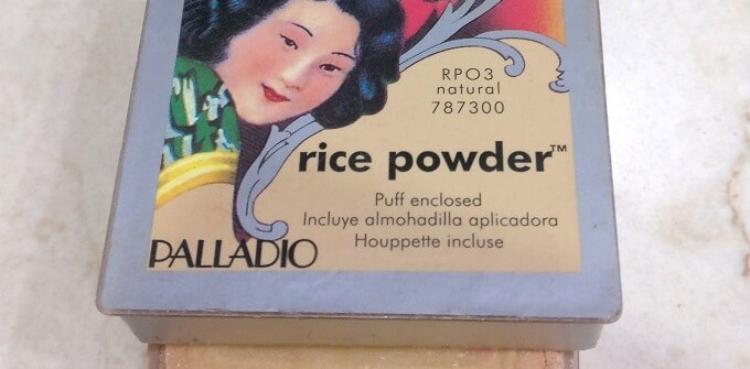 Palladio Rice Powder Review