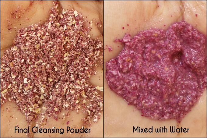 DIY Facial Cleanser - Cleansing Mixture