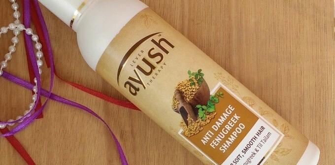 Lever Ayush Anti Damage Fenugreek Shampoo