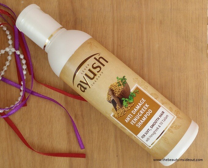Lever Ayush Anti Damage Fenugreek Shampoo