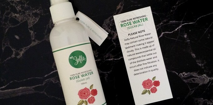 Zofla Rose Water