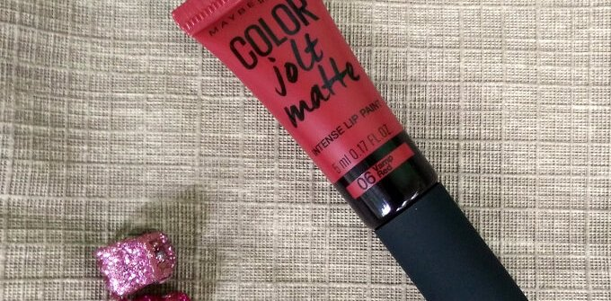 Maybelline Color Jolt Matte Intense Lip Paint Vamp Red Review