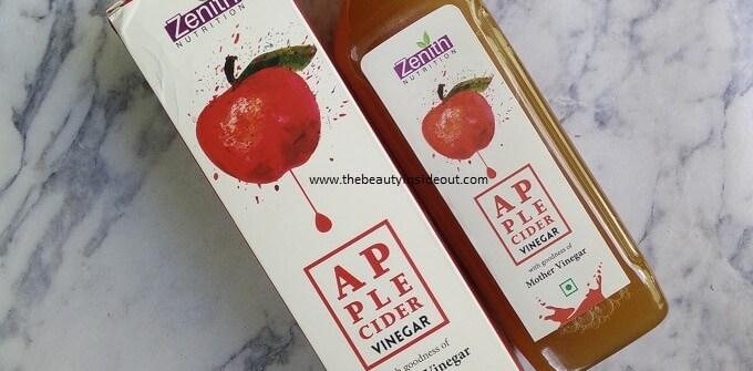 Zenith Nutrition Apple Cidar Vinegar