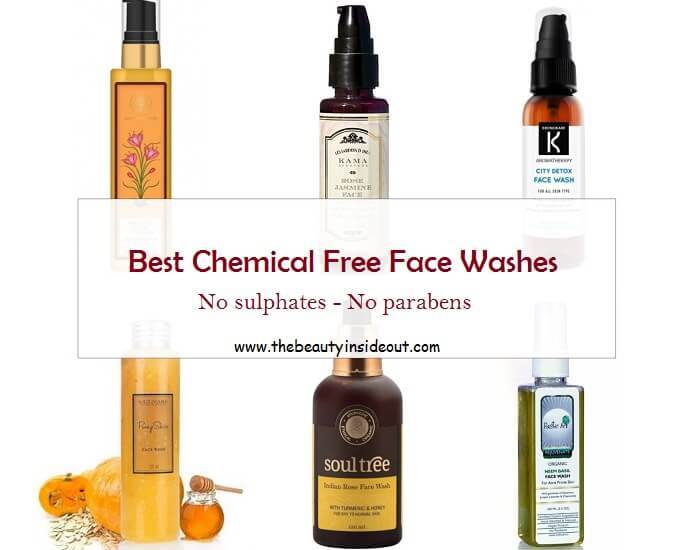 Best chemical free face wash