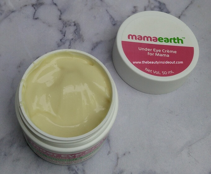 Mamaearth Under Eye Cream