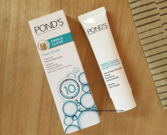 Ponds Leave On Expert Clearing Gel Review