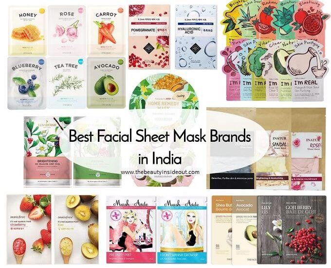 Best Facial Sheet Masks in India