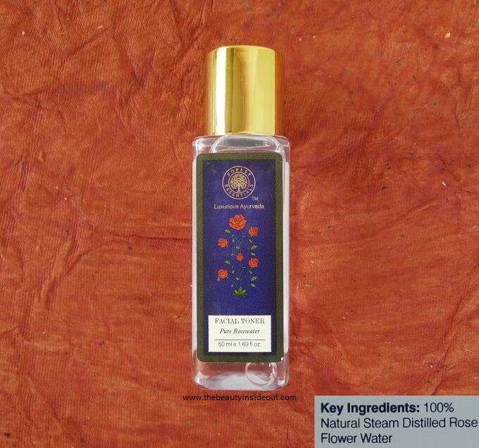 Forest Essentials Pure Rose Water Facial Toner