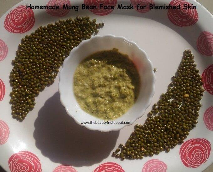 Mung Bean Face Mask