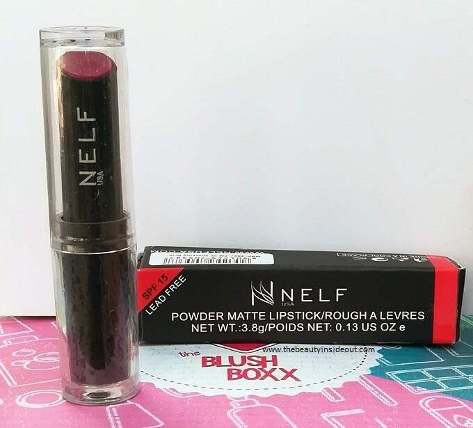 NELF Powder Matte Lipstick