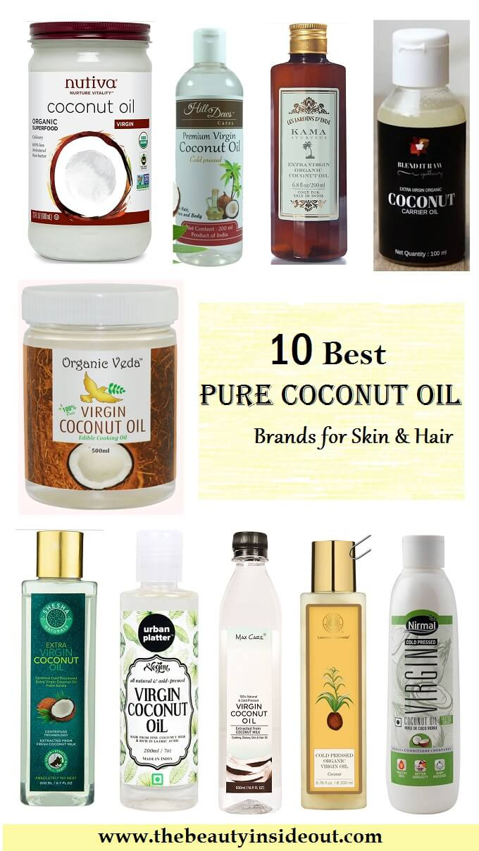 10 Best Pure Coconut Oil Brands in India