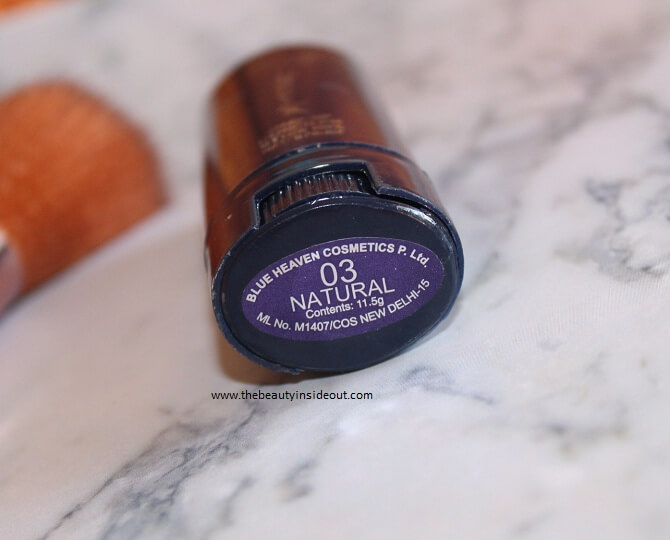 Blue Heaven Xpression Makeup Concealer Stick