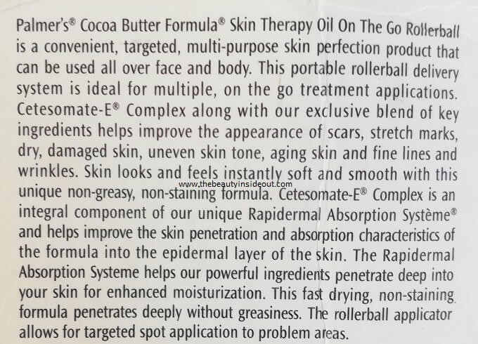 Palmer's Skin Therapy Oil Claims