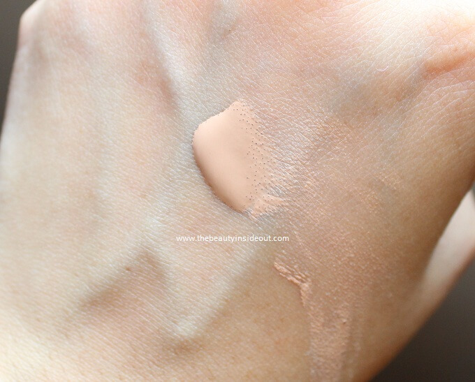 LA Girl BB Cream Swatch - Light/Medium