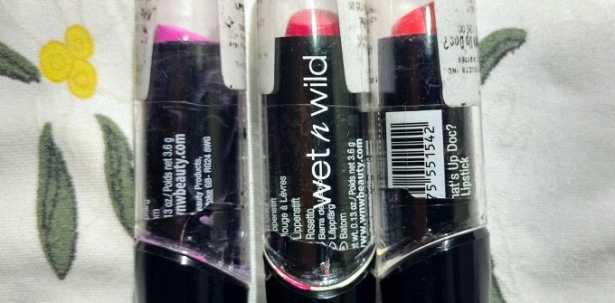 Wet n Wild Silk Finish Lipstick